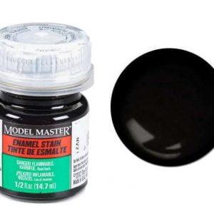 Model Master Enamel Paints Black Detail Stain 2178