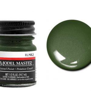 Model Master Enamel Paints Dunkelgrun RLM82 2091