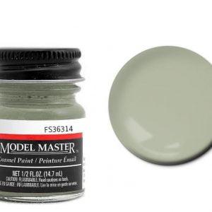 Model Master Enamel Paints Flint Gray Grey 2037