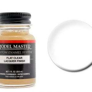 Model Master Flat Clear Lacquer 201503 2015