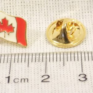 Canadian Flag Pin Size