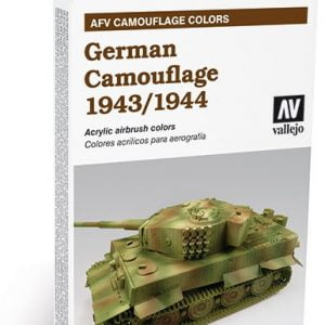 German Camouflage 1943 1944 Paint Set by Vallejo 78414
