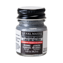 Metalizer Lacquer Paints by Model Master Aluminum Non-Buffing 1418