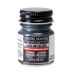 Metalizer Lacquer Paints by Model Master Stainless Steel Flat Buffing 1402
