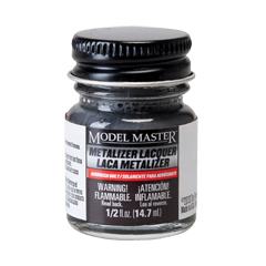Metalizer Lacquer Paints by Model Master Magnesium Flat Buffing 1403