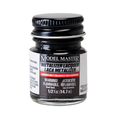 Metalizer Lacquer Paints by Model Master Titanium Flat Buffing 1404