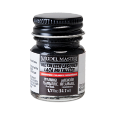 Metalizer Lacquer Paints by Model Master Exhaust Flat Buffing 1406