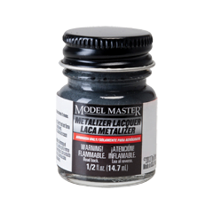 Metalizer Lacquer Paints by Model Master Dark Anodonic Gray Grey 1412