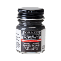 Metalizer Lacquer Paints by Model Master Burnt Metal 1415 141501