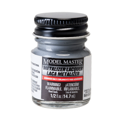 Metalizer Lacquer Paints by Model Master Aluminum Plate Flat Buffing 1401