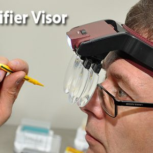 Magnifier Visor with Lens and Light 9008