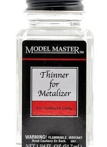 Metalizer Lacquer Paints by Model Master Thinner 1419