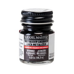 Metalizer Lacquer Paints by Model Master Burnt Iron Non-Buffing 1424