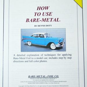 How To Use Bare Metal Booklet BMF 105