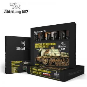 Abteilung 502 Vehicle Weathering and Effects Paint Set ABT302