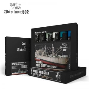 Abteilung 502 Naval and Grey Effects Paint Set ABT306