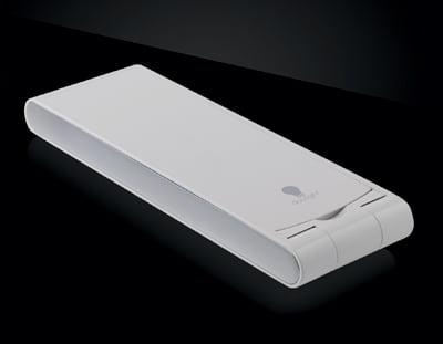 Closed LED Portable Foldi Travel Lamp by Daylight Company Black Finish