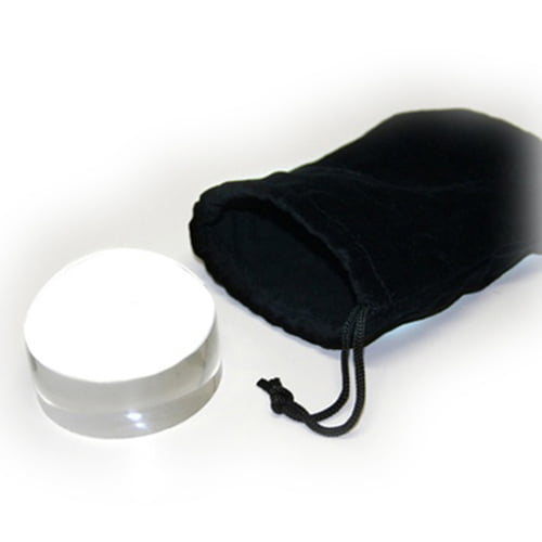 Ultradome 2-5 inch Loupe 4x Magnifier with Travel Pouch