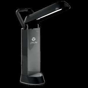 13w Folding Task Lamp by Ottlite Black