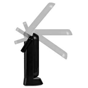 Opening 13w Folding Task Lamp by Ottlite Black
