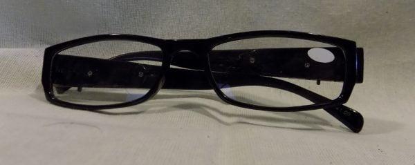 LED Reading Glasses Eyeglasses Black Strength 1.00 Black