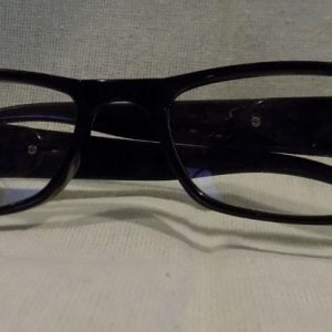LED Reading Glasses Eyeglasses Black Strength 2.00 Black