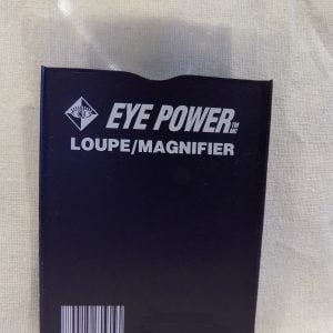 Desk size Fresnel Lens Loupe Magnifier with case by Eye Power