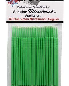 Microbrushes Regular Green 25 Pack by Alpha Abrasives ALB 1302