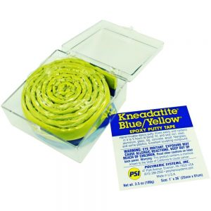 Kneadatite Green Stuff Blue Yellow Epoxy Putty Tape 36 inch