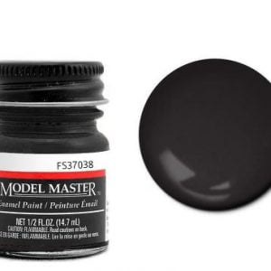 Model Master American FS Enamel Paints Flat Black 1749