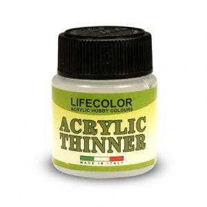 Lifecolor Acrylic Thinner 22ml LFC 2120