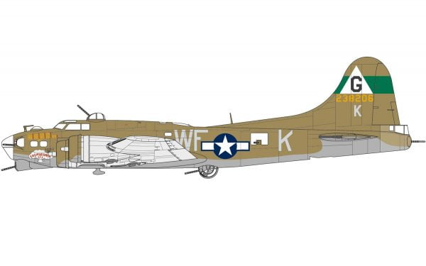 Airfix Eighth Air Force Boeing B-17G and Bomber Re-supply Set 72 Scale