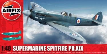 Airfix WWII British RAF Supermarine Spitfire Pr xix A05119