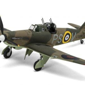 Completed 1 Airfix Boulton Paul Defiant Mk1 1-48 A05128