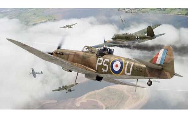 Artwork Airfix Boulton Paul Defiant Mk.1 1-72 A02069