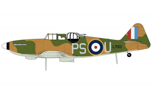 Layout 3 Airfix Boulton Paul Defiant Mk.1 1-72 A02069