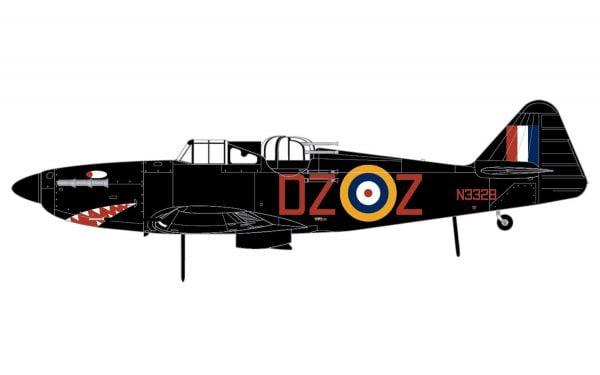Layout 4 Airfix Boulton Paul Defiant Mk.1 1-72 A02069