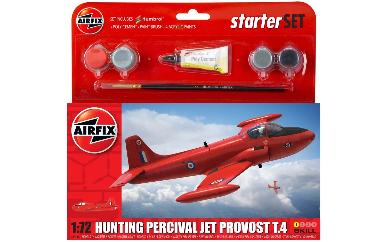 Airfix Hunting Percival Jet Provost T 4 Starter Set 1 72