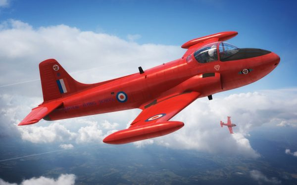 In use Airfix Hunting Percival Jet Provost T-4 Starter Set 1-72 A55116