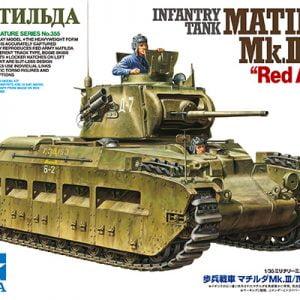 Box Tamiya Infantry Tank Matilda Red Army Mk-III-IV 1-35 35355