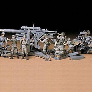 Tamiya German 88mm Gun Flak 36.37 Kit - CA117 1-35 35017