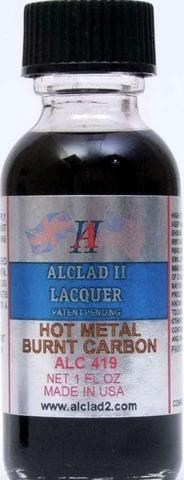 Alclad II Lacquer Paint Hot Metal Burnt Carbon ALC-419 419