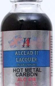 Alclad II Lacquer Paint Hot Metal Carbon ALC-418 418