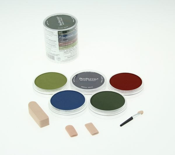 Panpastel 5 Pack Colours Extra Dark Shades Starter Set 30056