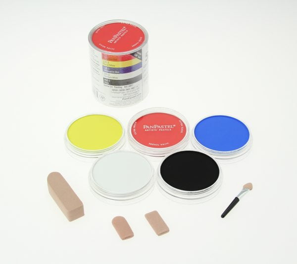 Contents Panpastel 5 Pack Colours Painting Starter Set 30051