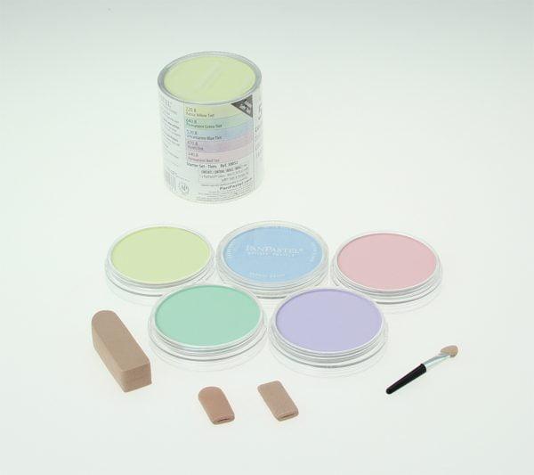 Contents Panpastel 5 Pack Colours Tints Starter Set 30052