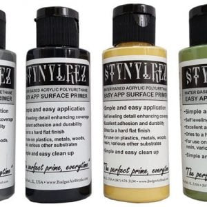 Set of 6 Tone Pack Stynylrez Primer 60 ml by Badger Airbrush SNR-216