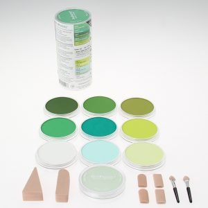 Panpastel 10 Pack Colours Greens Set 30104