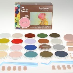 Panpastel 20 Pack Colours Portrait Set 30203