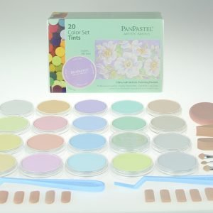 Panpastel 20 Pack Colours Tints Set 30204